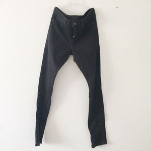 Vince Mid Rise Ankle Zip Pants